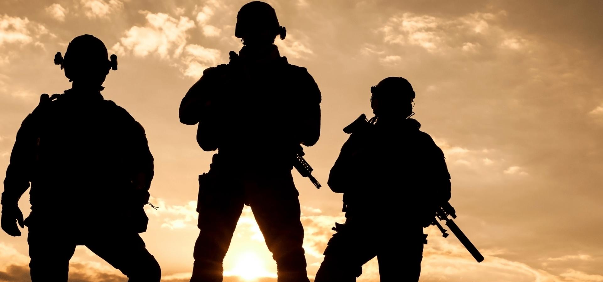 Armed Forces Main Slider Image