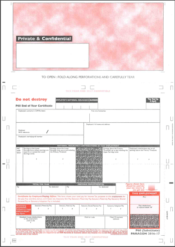 what does a p60 form look like image