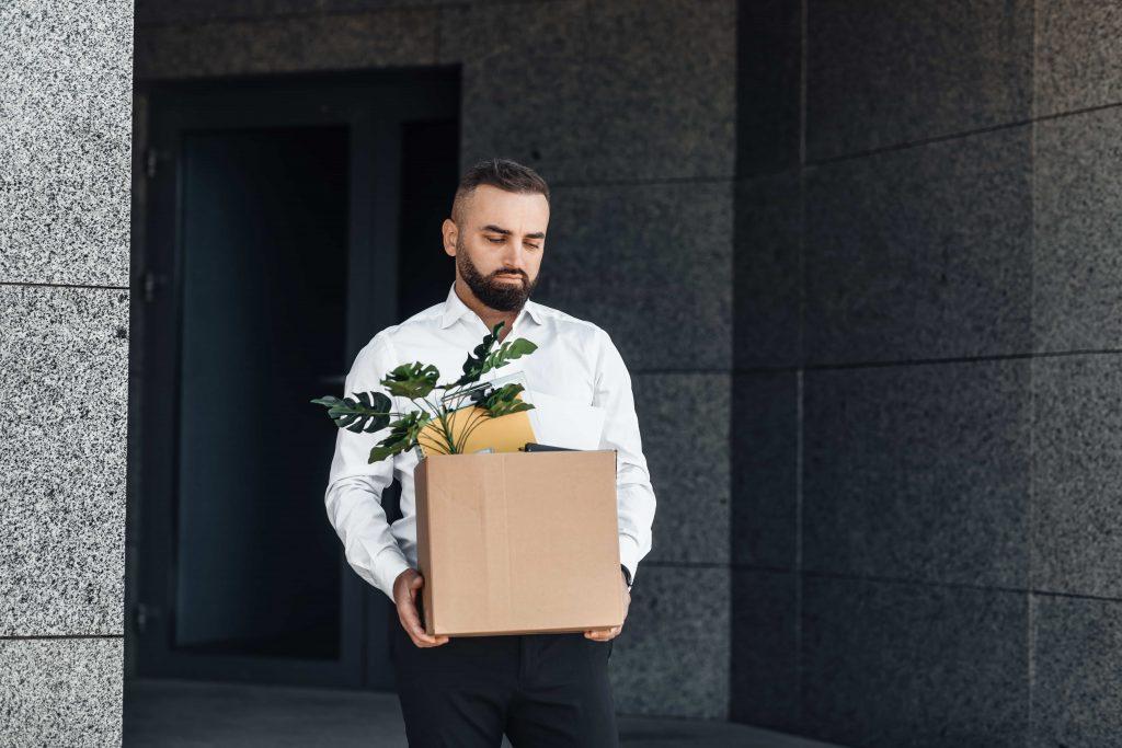 left employment due a tax refund